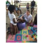 A photo of a Madriella Doula serves women in Haiti