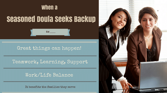 An online ad for a seasoned doula to provide assistance