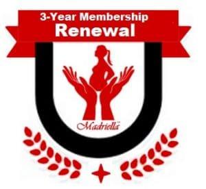 Madriella Three Year Member Badge