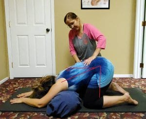 Example of the inversion exercise